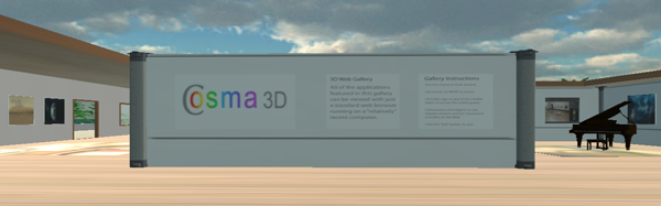 Cosma 3D Experience Gallery